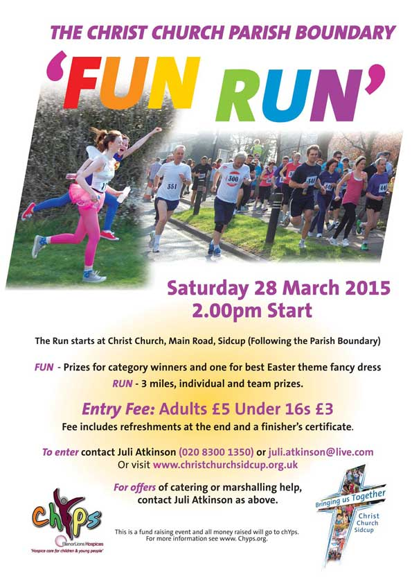 Christ Church Parish Boundary FUN RUN