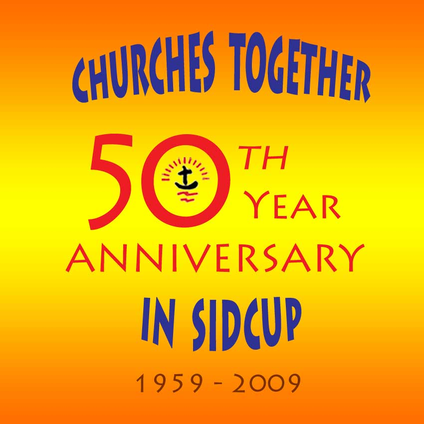Churches Together 50 Logo