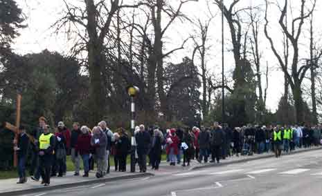 Sidcup Good Friday Walk of Witness