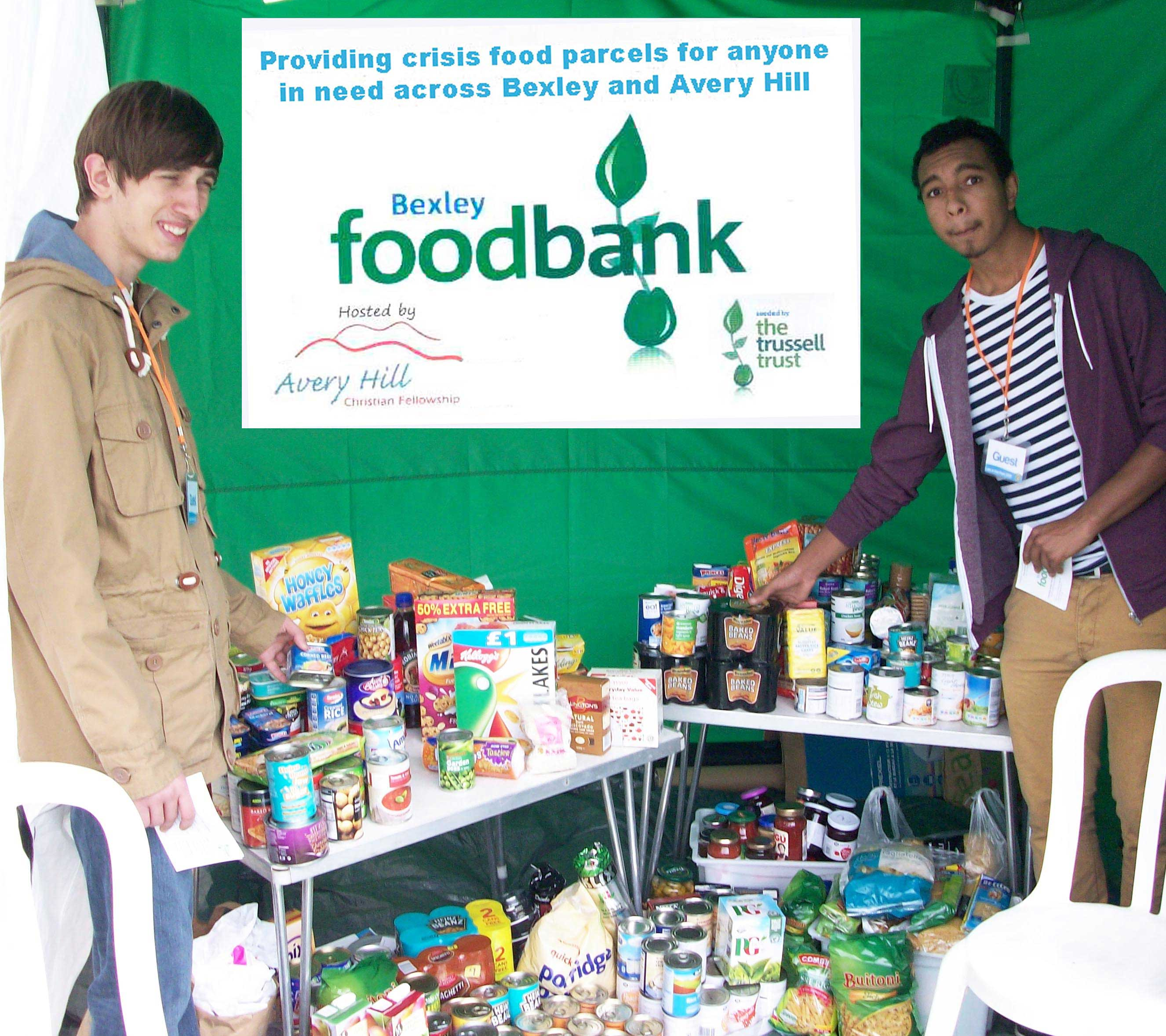 Bexley Foodbank at Avery Hill Christian Fellowship