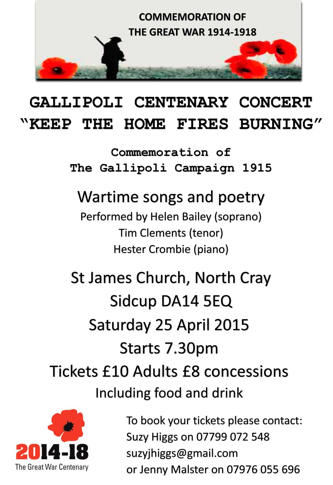 Gallipoli - St James Church, North Cray