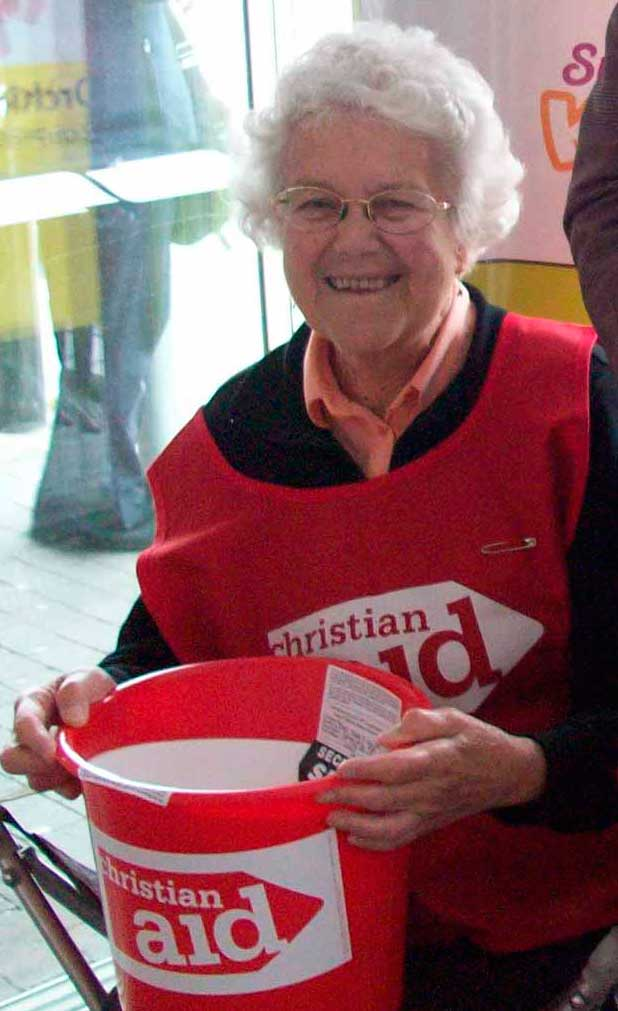 Jean Smith, Many years an active member of Churches Together in Sidcup