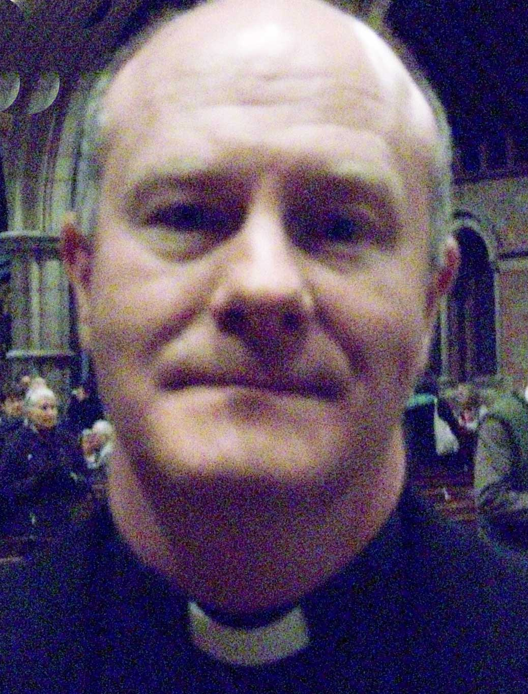 Fr John Diver, St. Lawrences Church, Sidcup