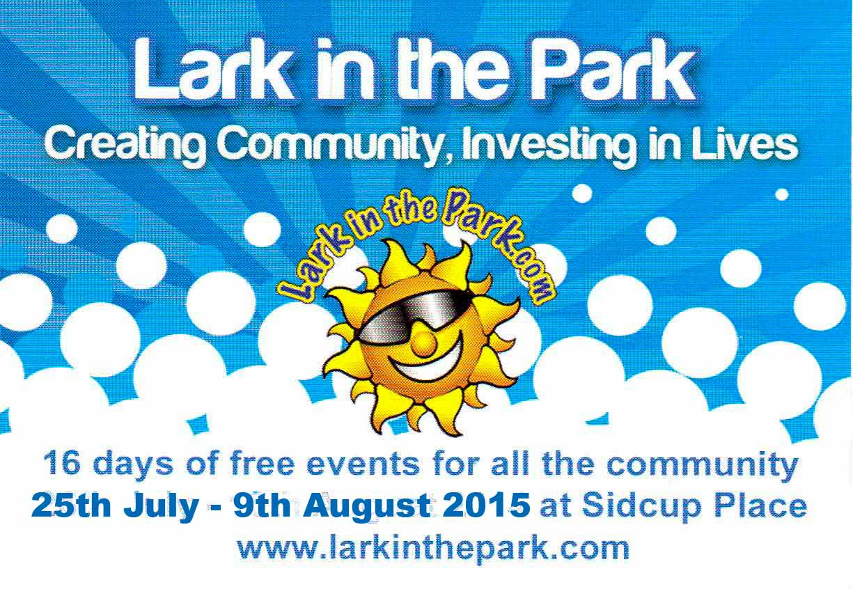 Lark in the Park, Sidcup