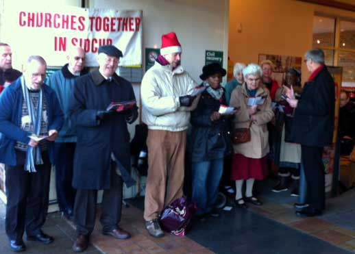 Carol Singing at Morrisons, Sidcup