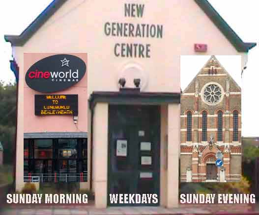 New Generation Centre Church & Cine World