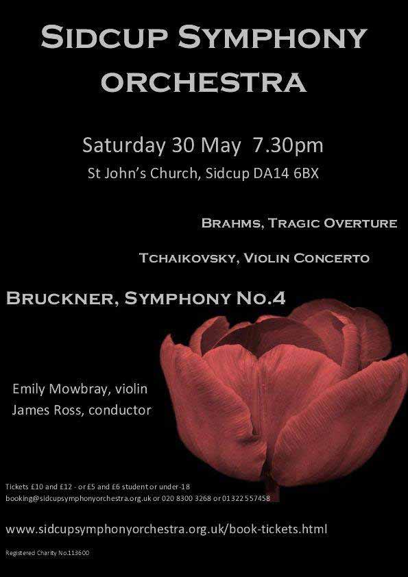Sidcup Symphony Orchestra - St John's Church, Sidcup