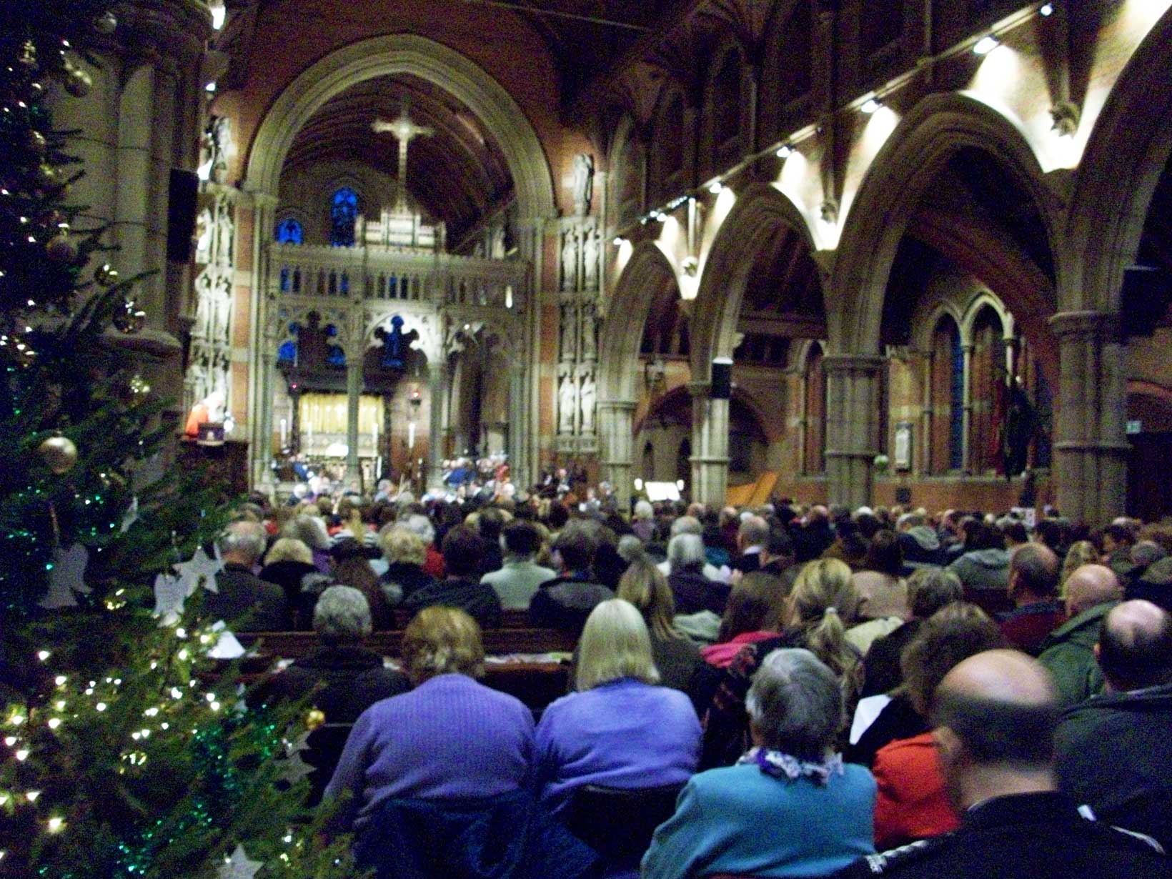 Civic Carol Service at St. John's, Sidcup