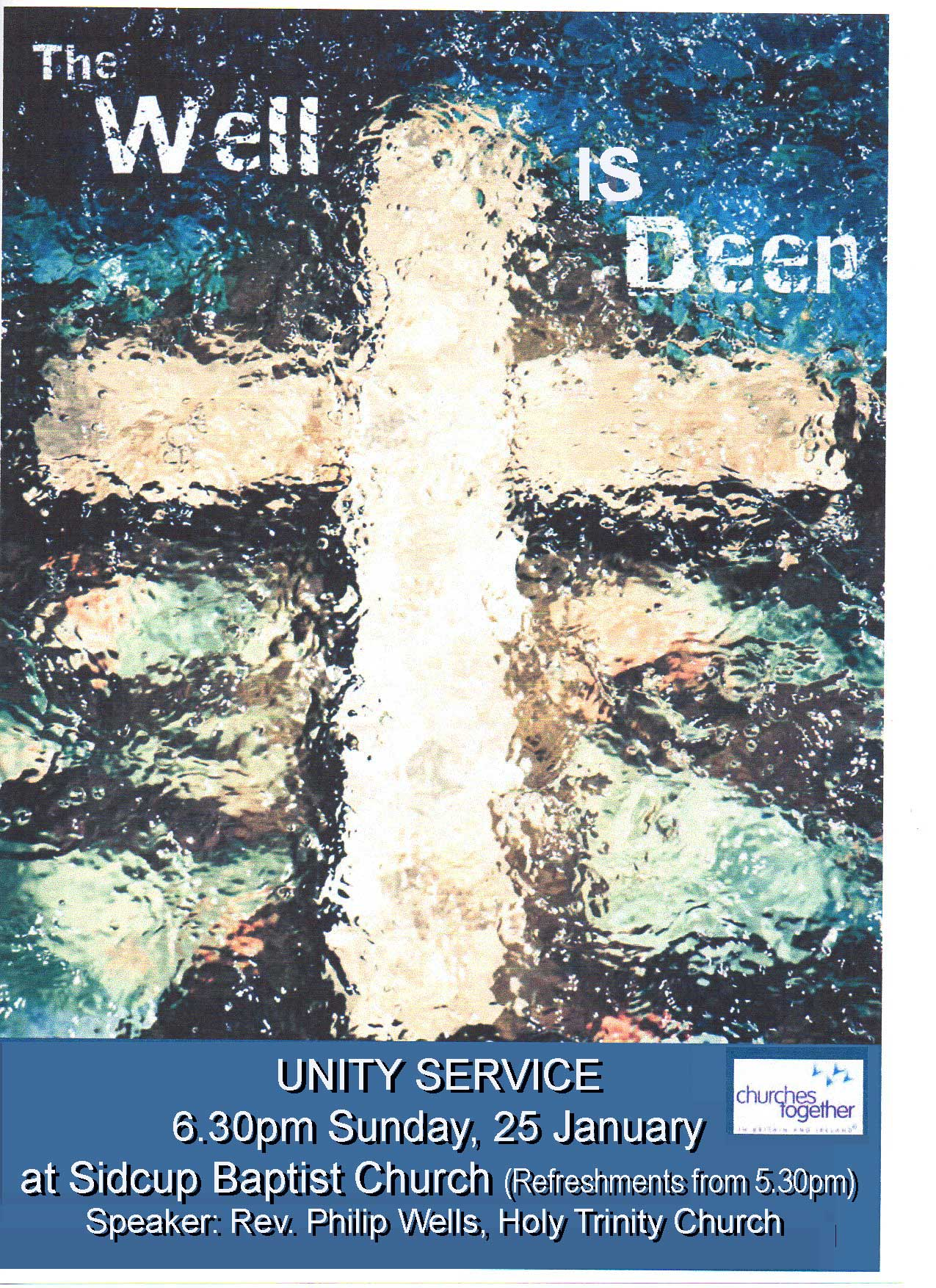 Unity Service2015, Sidcup Baptist Church