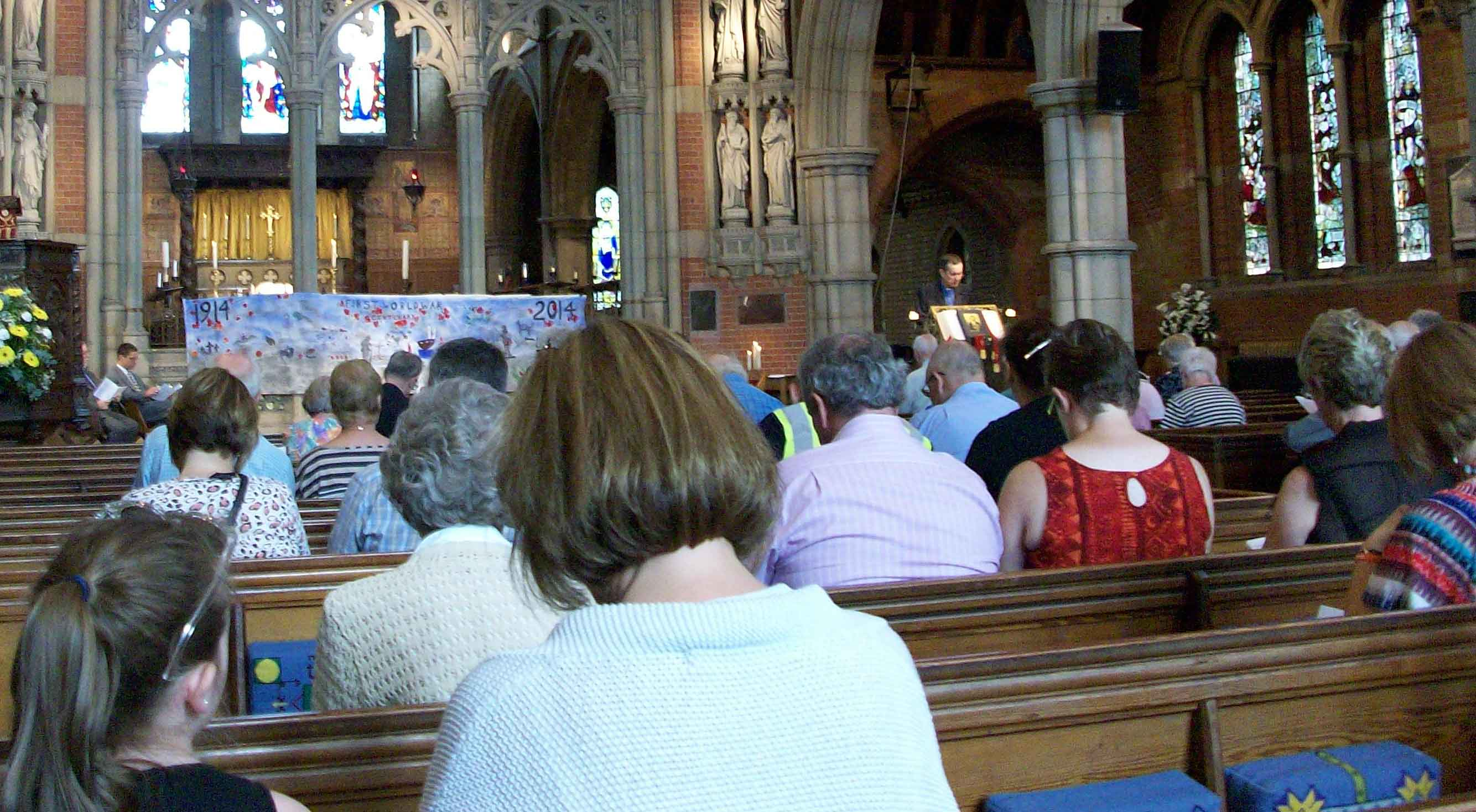 Commemoration Centenary of WW1, St John's Church, Sidcup